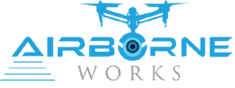 Aerial Videography, Cinematography, Drone Photography Services – AirborneWorks.com Logo